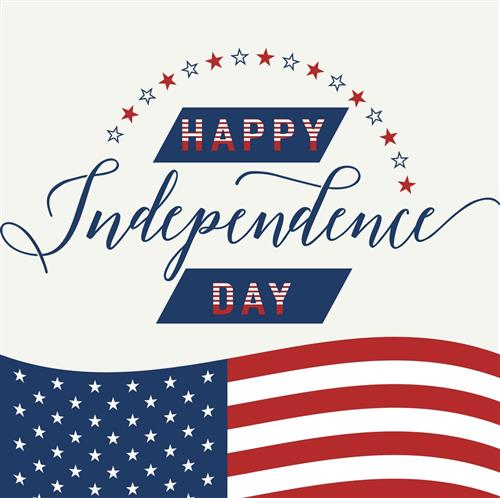 Happy Independence Day Clipart Image